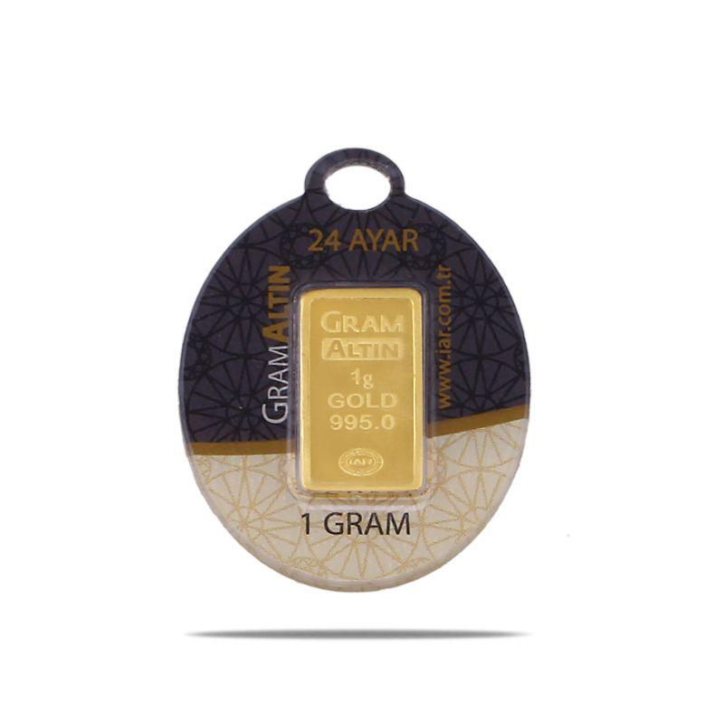 1 Gram 24 Ayar Sertifikalı Gram Altın