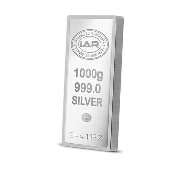 Külçe Gümüş 1 kg 999 Saflık