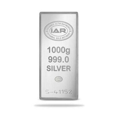 Külçe Gümüş 1 kg 999 Saflık Havale EFT